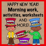 Happy New Year Morning   Work Activities   Worksheets   No Prep   Print and Go