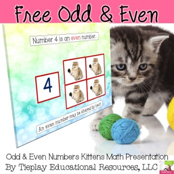 FREE Odd or Even: Kitty Counting