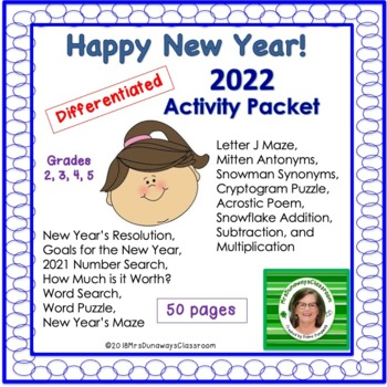 Happy New Year Packet 2017 edition
