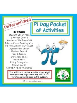 Pi Day Packet