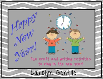 New Year's Packet!  Craft and Writing Activities to Ring i