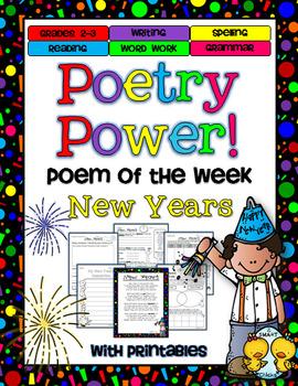 Poem of the Week: Happy New Year Poetry Power!