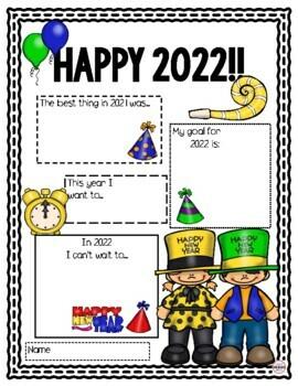 Happy New Year Portfolio Page
