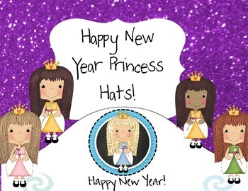 Happy New Year Princess Hats