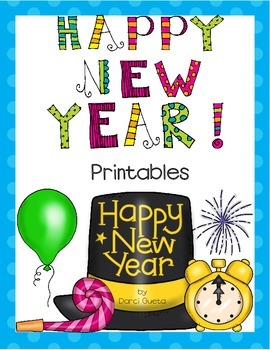 Happy New Year Printables