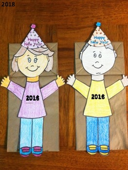 Happy New Year Puppets
