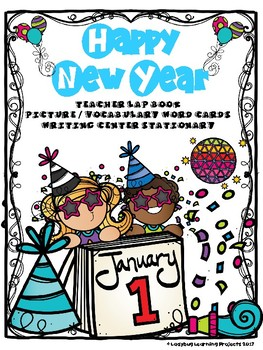 happy new year readerteacher lap book vocabulary writing activities game