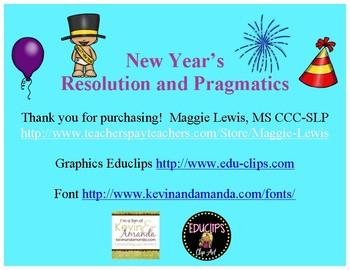 Happy New Year Resolution and Pragmatic task