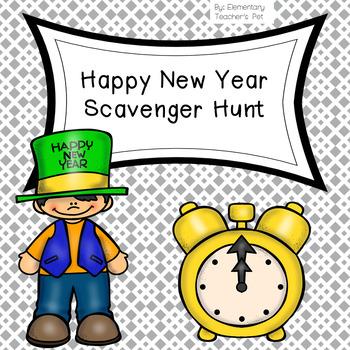 New Year Scavenger Hunt