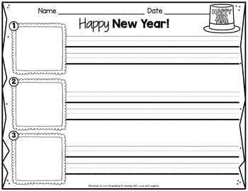 Happy New Year Scrambled Sentences