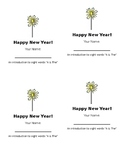 Happy New Year Sight Words A & The