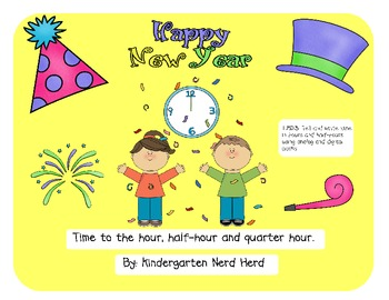 Happy New Year: Time to the hour and half hour
