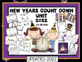 Happy New Year Unit/ Calendar Number Cards/ Math/ Addition/ Subtraction/ Craft