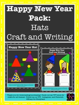 Happy New Year Value Pack: Craft and Writing, Hat