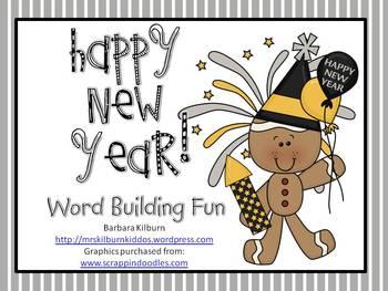 Happy New Year!  Word Building Fun