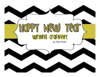 Happy New Year {Writing Craftivity}
