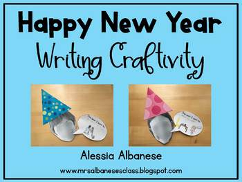 Happy New Year - Writing Craftivity