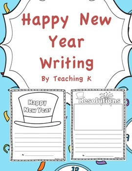 Happy New Year Writing Packet