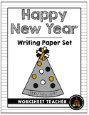 Happy New Year Writing Paper Set