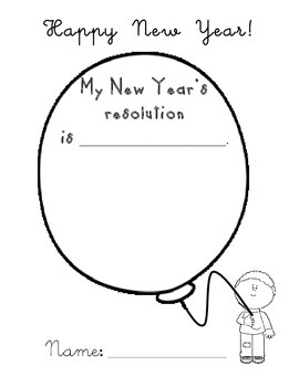 Happy New Year! printable