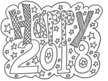 Happy New Year! Art and Writing Activities