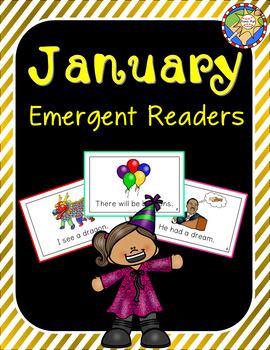 New Year's Emergent Readers