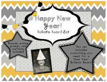 Happy New Year (Bulletin Board Set)
