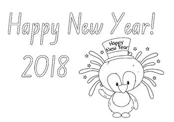 Happy New year Freebie #1