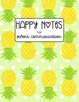 Happy Notes Chart Organizer for Classroom Management and Positive Reinforcement