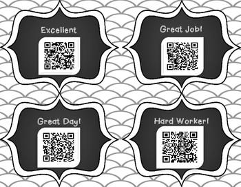 Happy Notes QR codes