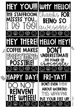 Happy Notes | Staff Wellbeing
