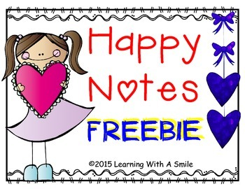 FREE Happy Notes for Lunch Boxes and Backpacks