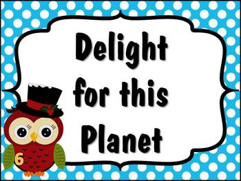 Happy OWLidays Christmas Song Bulletin Board