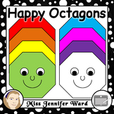 Happy Octagon Clipart