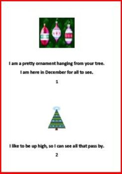Happy Ornaments Rhyming Book