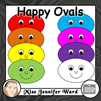 Happy Oval Clipart