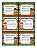 Happy Owlidays Christmas Homework Pass