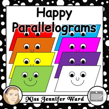Happy Parallelograms Clipart