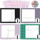 Happy Pattern BOOM Card Templates