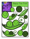 Happy Pea Pods {Creative Clips Digital Clipart}