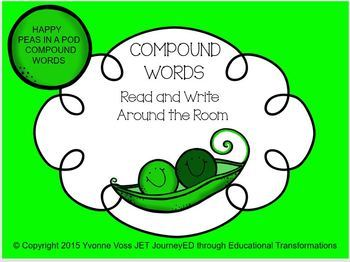 Happy Peas in a Pod Compound Words
