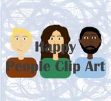 Happy People Clip Art