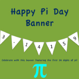 Happy Pi Day Banner!