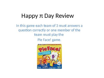 Happy Pi Day Review