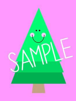 Happy Pines Clip Art