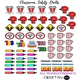 Happy Planner Classroom Safety Drills with 100th Day Sticker Page