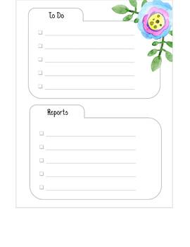 Happy Planner Special Education Inserts