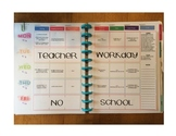 Happy Planner Teacher Edition-Template