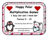 Happy Polar Multiplication Game Set - Easy and Hard Facts