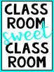 Happy Posters for Your Classroom!